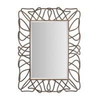Uttermost Halsey Mirror in Gold 12878