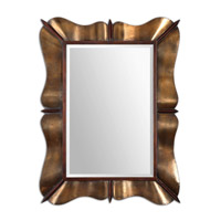 Uttermost Bowery Mirror in Curved Metal 12879