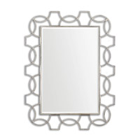 Uttermost Vizela Large Mirror in Hand Forged Metal 12887