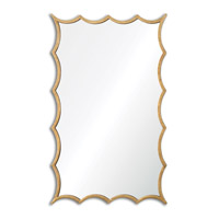 Uttermost Dareios Mirror in Hand Forged Metal 12892