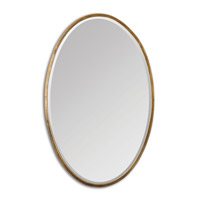 Uttermost Herleva Oval Mirror in Gold 12894