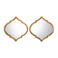Jebel 18 X 18 inch Antique Gold Mirror Home Decor