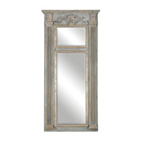 Uttermost 12933 Sella 60 X 29 inch Weathered Gray Wall Mirror thumb
