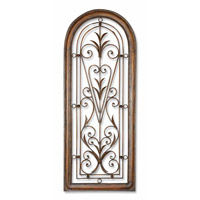 Uttermost Cristy Petite Metal Wall Art in Light Brown Undercoat 13205