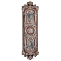 Uttermost Domenica Mirror in Lightly Distressed Chestnut Brown 13529-P