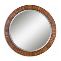 Uttermost Jules Mirror in Lightly Antiqued Zebrano Veneer 13554-B