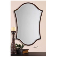 Uttermost Abra Vanity Mirror in Lightly Distressed Bronze 13584-B