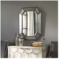 Uttermost Elliot Mirror in Distressed Hammered Aluminum 13628-B