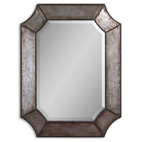 Uttermost 13628-B Elliot 32 X 24 inch Distressed Aluminum Wall Mirror