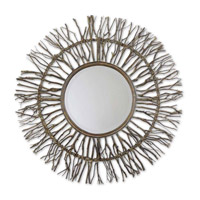 Josiah 38 X 38 inch Real Birch Branches Wall Mirror