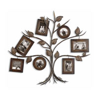Uttermost 13722 Rustic Tree 35 X 32 inch Tree Photo Collage thumb