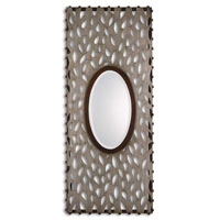 Uttermost 13729 Nanala 48 X 21 inch Antique Silver Leaf Wall Mirror photo thumbnail