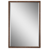 Uttermost Tempe Mirror in Distressed Rusty Brown 13749