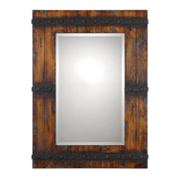 Uttermost 13804 Stockley 43 X 32 inch Antiqued Mahogany Mirror Home Decor