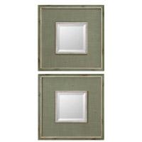 Uttermost Sheridan Set of 2 Mirrors in Green 13842