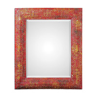 Uttermost Aeliana Mirror in Red 13859