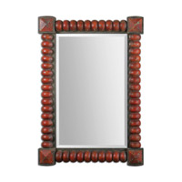Uttermost Clancy Mirror in Rust Red 13869