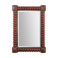 Uttermost Clancy Mirror in Rust Red 13869