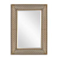 Uttermost Ariston Mirror in Stamped Metal 13871