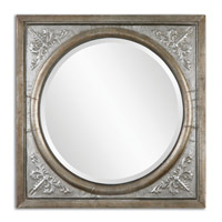 Ireneus 34 X 34 inch Burnished Silver Mirror Home Decor