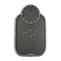 Uttermost Riveter Clock and Chalkboard 13876