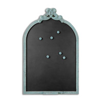 Uttermost Junia Chalkboard in Blue 13877