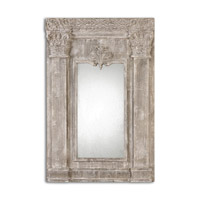 Uttermost Anicetus Mirror in Stone Gray 13881