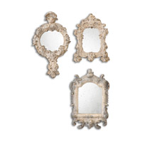 Uttermost Rustic Artifacts Mirror in Burnished Gray 13882