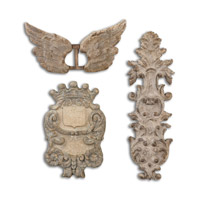 Uttermost Rustic Artifacts Wall Art in Burnished Gray 13883