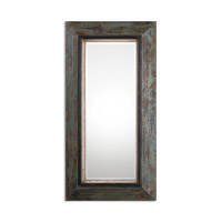 Bronwen 62 X 32 inch Teal Blue and Olive Leaner Mirror Home Decor