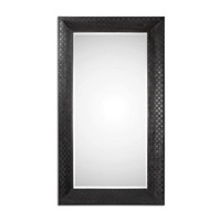 Uttermost 13993 Scarlino 72 X 42 inch Rust Black Wall Mirror thumb