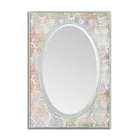 Uttermost Lucilla Mirror in Rust Bronze 13994