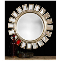 Uttermost Cyrus Mirror in Distressed Silver Leaf 14076-B