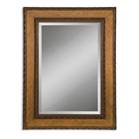 Uttermost 14127-B Nakeisha 31 X 27 inch Distressed Bronze Leaf Wall Mirror photo thumbnail
