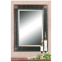 Uttermost Bergamo Vanity Mirror in Distressed Chestnut Brown 14156-B