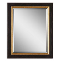 Uttermost Willcox Mirror in Distressed Black 14172 photo thumbnail