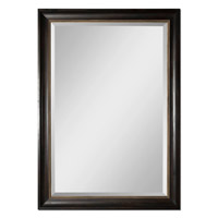 Uttermost Axton Mirror in Dark Mahogany Wood Tone 14178