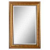 Uttermost Bernia Gold Mirror in Antiqued Gold Leaf 14200 photo thumbnail