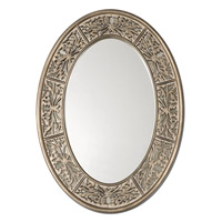 Uttermost Francesco Oval Small Mirror in Antiqued Champagne 14354