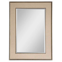Marilla 45 X 33 inch Heavily Burnished Beaded Frame Mirror Home Decor