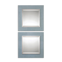 Uttermost Tory Squares Set of 2 Square Mirror in Denim 14498