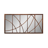 Uttermost Loudon Mirror in Distressed Bronze 14530