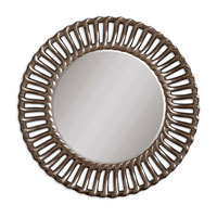 Uttermost 14531 Moravia 42 X 42 inch Antiqued Silver Leaf Wall Mirror thumb