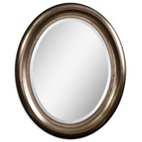 Uttermost 14532 Niles Silver 36 X 30 inch Lightly Antiqued Silver Leaf Wall Mirror thumb