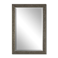 Uttermost Clematis Mirror in Aged Silver 14602