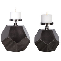 Uttermost 17510 Dash 12 X 12 inch Candleholders, Set of 2