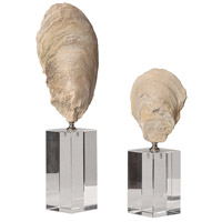 Uttermost 17523 Oyster 15 X 5 inch Shell Sculptures, Set of 2 17523_6_.jpg thumb