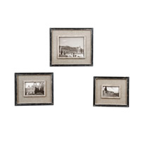 Uttermost 18537 Kalidas Distressed Black Frame Home Accessory