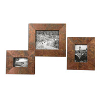 Uttermost Ambrosia Set of 3 Photo Frames 18564
