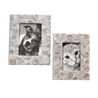 Uttermost Spirula Set of 2 Photo Frames 18566